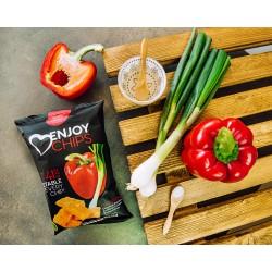 40 g Chips ENJOY - červená paprika a jarní cibulka