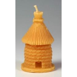 1 ks Svíčka Včelí úl ze včelího vosku Pleva