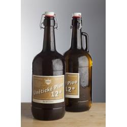 2 l Únětické pivo 12° skleněný demižón