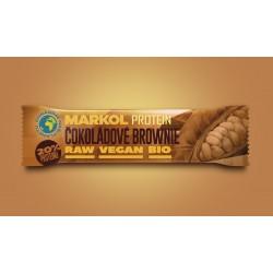 40 g BIO proteinová tyčinka čokoládové brownie