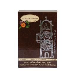 54 g Luxusní pralinky - Švestky v rumu a čokoládě