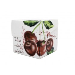120 g Višně v hořké čokoládě s kakaem