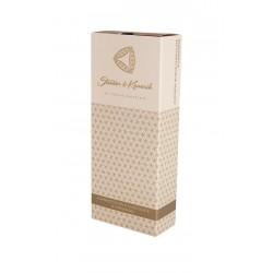150 g Mandle v mléčné čokoládě ve zlaté krabičce