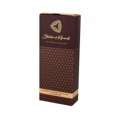 150 g Mandle v hořké čokoládě se skořicí v dárkové krabičce