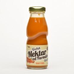 0,2 l Gabík Rakytník smoothie Nektar od farmáře