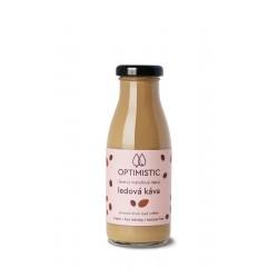 250 ml OPTIMISTIC - čerstvý mandlový nápoj Ledová káva