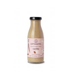 250 ml OPTIMISTIC - čerstvý mandlový nápoj Vanilka
