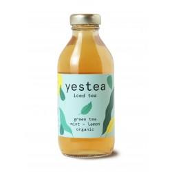330 ml YESTEA - BIO Zelený ledový čaj máta - citron