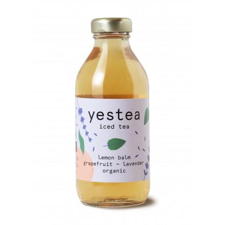 330 ml YESTEA - BIO MEDUŇKA & LEVANDULE Ledový zelený čaj