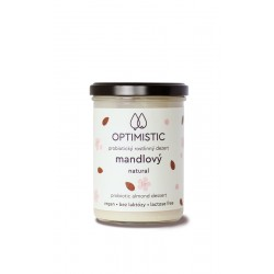 375 g OPTIMISTIC - probiotický mandlový dezert Natural