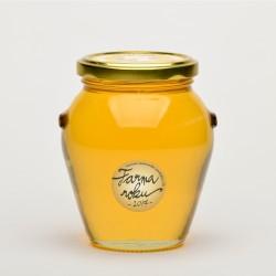 400 g Med květový akátový ze včelí Farmy roku 2017