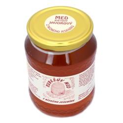 480 g Kubešův med květový javorový z rodinné včelařské farmy
