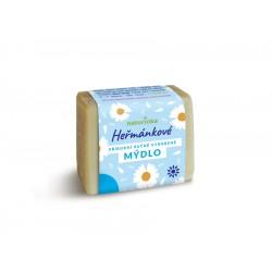 Klasické heřmánkové antibakteriální mýdlo váha a velikost dle výběru 1ks
