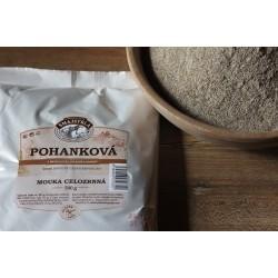 500 g Pohanková mouka celozrnná z mlýna Šmajstrla