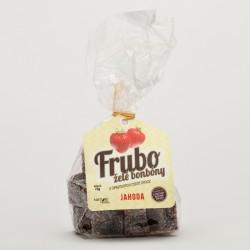 FRUBO Jahoda želé bonbony s opravdovou chutí ovoce 70 g