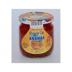Pečený čaj Ananas s mátou velké  430 ml či malé balení 55 ml