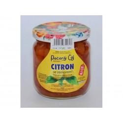 Pečený čaj Citron se zázvorem velké 430 ml či malé balení 55 ml