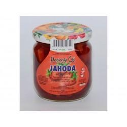 Pečený čaj Jahoda se skořicí velké 430 ml či malé balení 55 ml