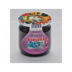 Pečený čaj Borůvka s kardamomem a fruktozou velké 430 ml či malé balení 55 ml