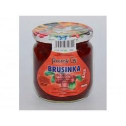 Pečený čaj Brusinka se skořicí velké 430 ml či malé balení 55 ml