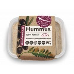 150 g Hummus  s černými olivami