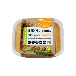 150 g Bio Hummus  s karamelizovanou cibulkou
